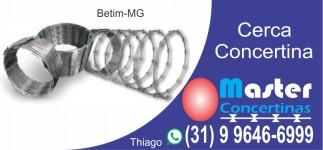 Master Concertinas - Cerca Concertina em Betim-MG (31) 9 9646-6999