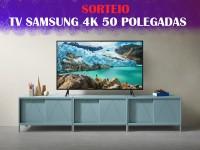 Rifa tv 4k SAMSUNG 50 polegadas.