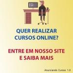 Anunciando Cursos -  Variedades de cursos online com boa avaliação
