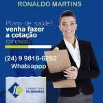 plano de saúde em VR 24|99818-662 Ronaldo Martins