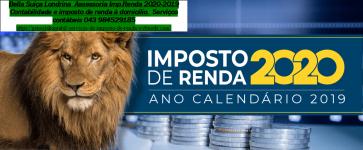 Centro Contábil Londrina  Assessoria Imp.Renda 2020-2019
