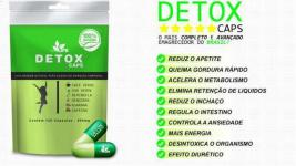 Detox Caps Emagrecedor - Frete Grátis