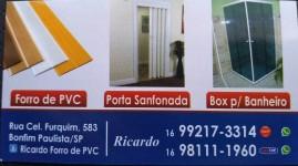 Box para banheiro, Forro de PVC,portas sanfonadas, limpeza de calhas, telas de proteção, mosqueteira, pequenos reparos