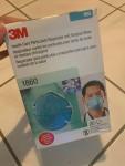 Respirador Particular 3M 1860S e Máscara Cirúrgica