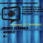 Detetive Particular em Rio de janeiro (Niterói) Whatsapp: (21) 988985465  24hrs