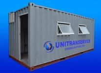 Locação e vendas de containers marítimos adaptados para módulos habitáveis