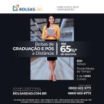 Bolsas de Graduação ou Pós - Até 65% Desconto