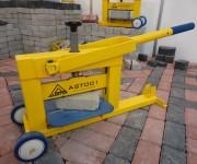 Guilhotina para corte de bloquetes AST001 da Austor