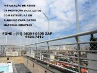 Telas de Proteção para Gatos, (11) 98391-0505, za