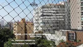 Telas de Proteção na Vila Mariana, (11)  98391-0505, zap