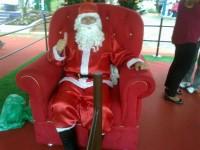 Papai Noel para porta de loja, Papai Noel para noite de natal