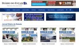 Site de Noticias - Diário Oficial do Estado