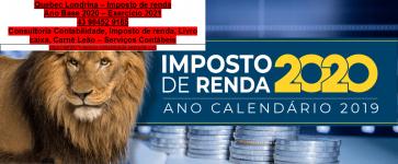 imposto de renda em 2021 em londrina