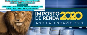 Av. rio de janeiro|Londrina-2021-IRPF#Declaração IRPF