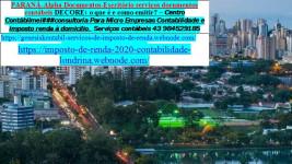 Contabilidade e Imposto de renda | Av. Lázaro Zamenhoff