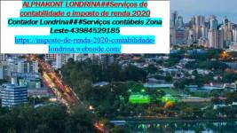 Contabilidade   Imposto de renda  auditoria  – Arapongas PR