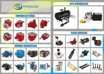 peças e componentes hidráulicos