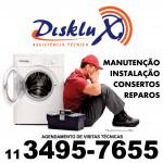Manutenção para lavadora de roupas