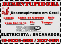 Desentupidora em Campinas 33270091 Desentupidora no Vila Proost de Souza em Campinas