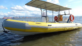 vendo barco inflavel 2019  6.00mtrs