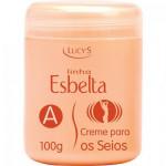 CREME AUMENTO/ CRECIMENTO DOS SEIOS LUCY'S 100g – LINHA ESBELTA - A