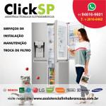 Click especializada em manutenção para geladeiras