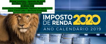 Contabilidade Londrina – Declaração de Imposto de Renda Paraná